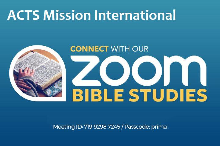 Zoom Bible Studies
